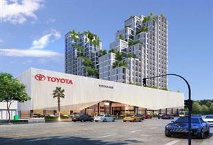 Dự án: Showroom Toyota Huế