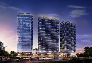 Công trình nhà ở cao tầng kết hợp văn phòng Intracom