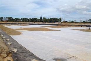 Thi công màng HDPE cho trạm xử lý nước thải Quảng Bình