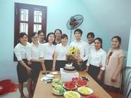 Hoạt động sinh nhật tháng do công đoàn Minh Đức tổ chức